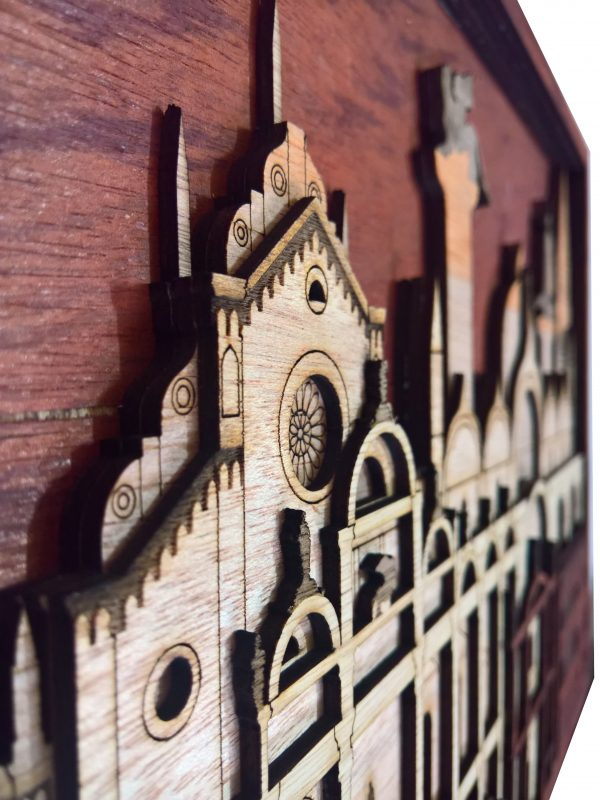 Venice Laser cut Wall Arts detailed view